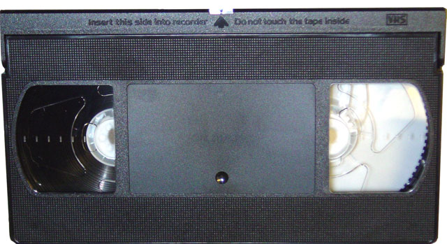 Quick tip 1 remove vhs tapes for Becoming minimalist home
